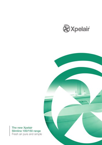 Xpelair Slimline range