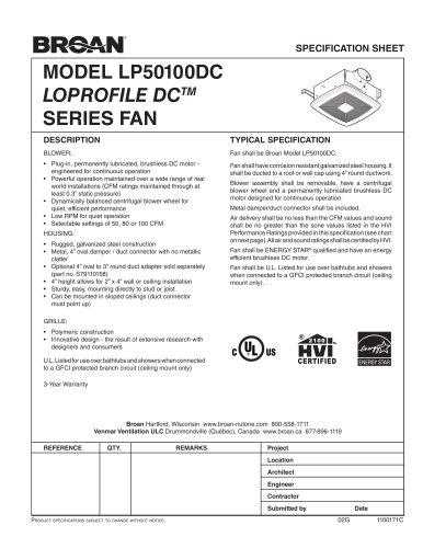 LP50100DC