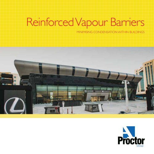 Reinforced Vapour Barriers Brochure
