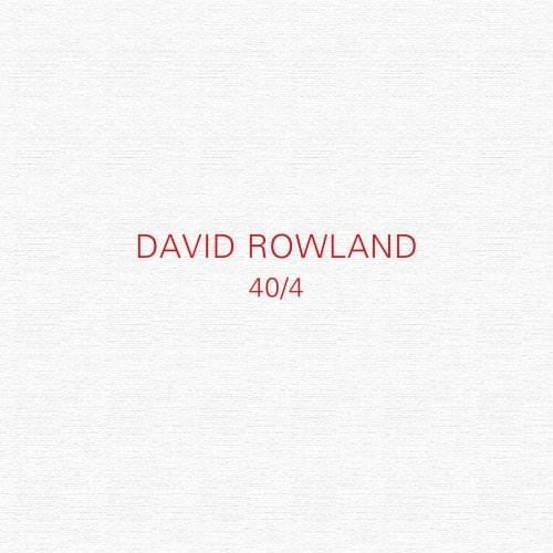 40/4 David Rowland Design Book