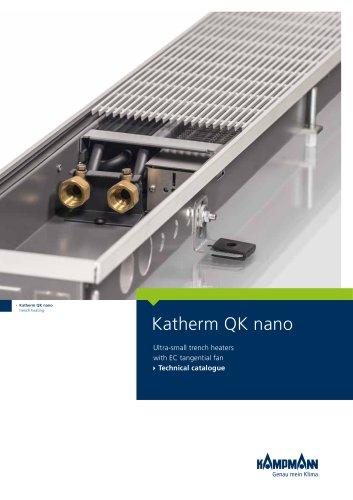 Katherm QK nano trench heating