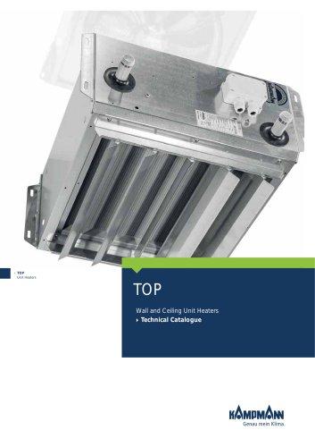 TOP unit heaters